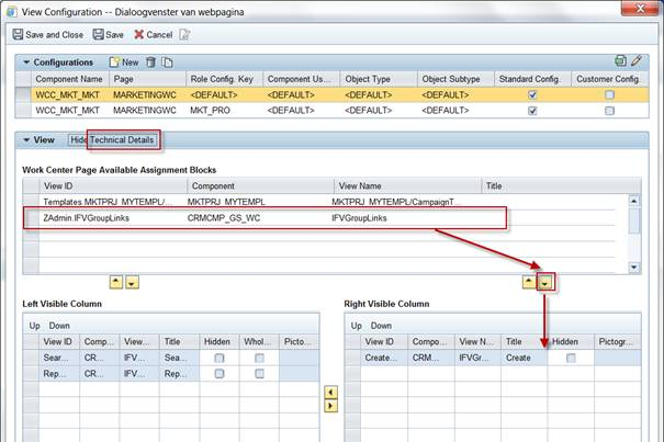 How To Create Custom Assignment Block In Sap Crm