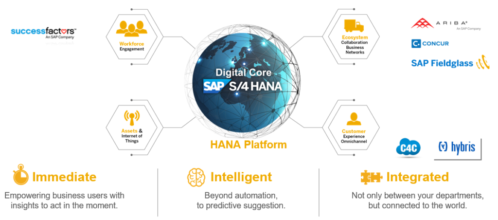 S4HANA digital core