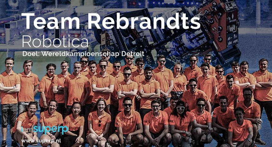 iamSUPERP - Team Rembrandts - Robotics - SUPERP